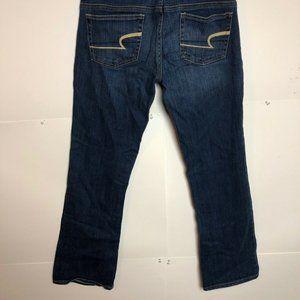 American Eagle Womens Jeans Sz 6 Stretch Slim Boot